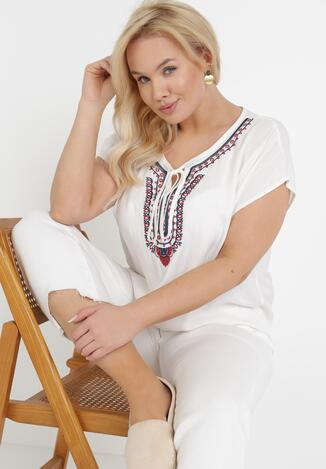Biała Bluzka Marisana