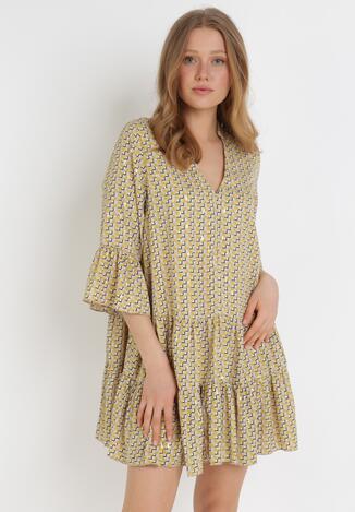 Żółta Sukienka Aroarane