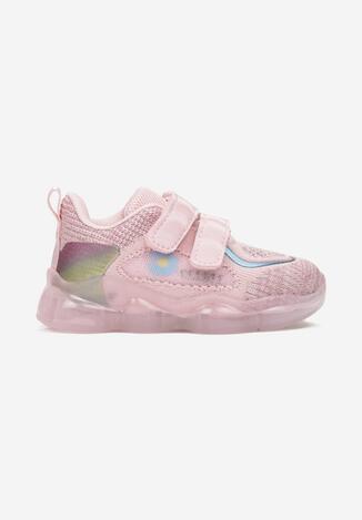 Różowe Buty Sportowe Tethys