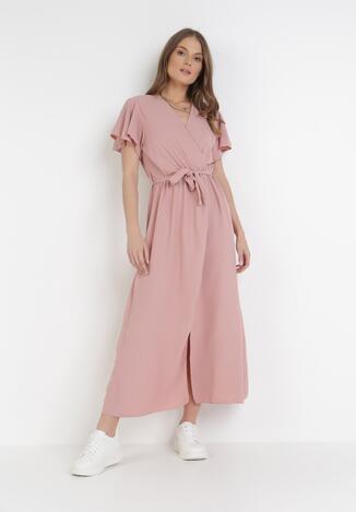Ciemnoróżowa Sukienka Vilinerris