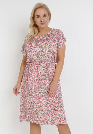 Biało-Różowa Sukienka Nereirena
