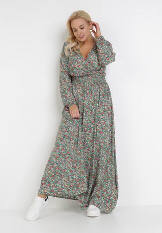 Zielona Sukienka Ohirnila