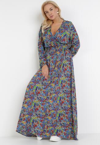 Niebieska Sukienka Kelatai