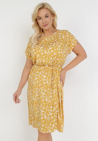 Żółta Sukienka Doryris