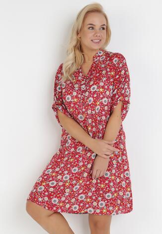 Czerwona Sukienka Kryneth