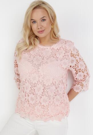 Różowa Bluzka Auranore