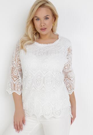 Biała Bluzka Maryrissa