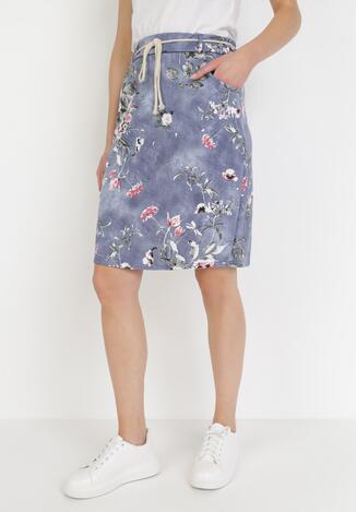 Niebieska Spódnica Ariesyla