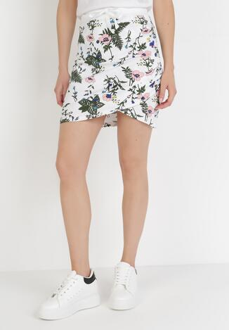Biało-Różowa Spódnica Corosesis