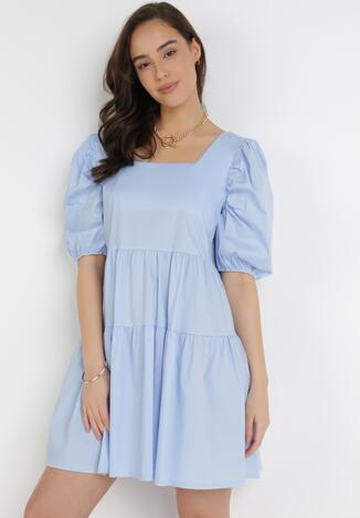 Jasnoniebieska Sukienka Berinesha