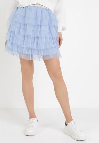 Niebieska Spódnica Shyoth