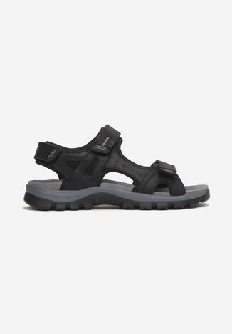 Czarne Sandały Ephephaeia