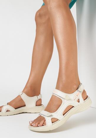 Beżowe Sandały Morgadah