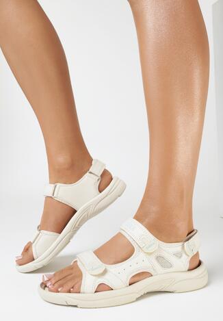 Beżowe Sandały Zhata