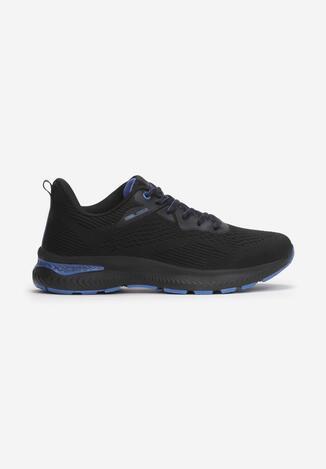 Czarno-Niebieskie Buty Sportowe Usinanya
