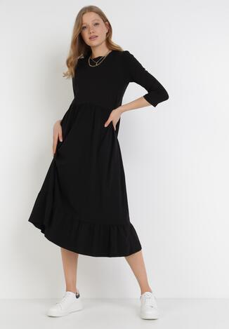 Czarna Sukienka Himeete