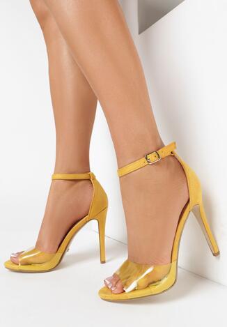 Żółte Sandały Coraerinda