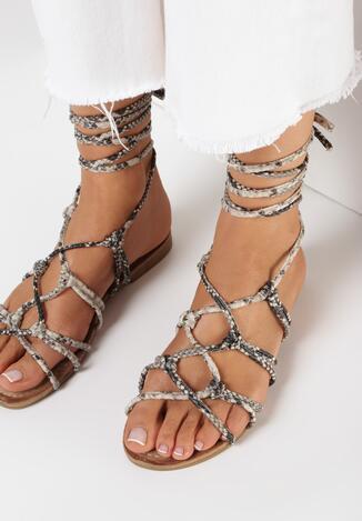 Wężowe Sandały Metiosa