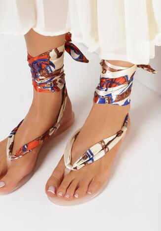 Beżowe Sandały Ethusa