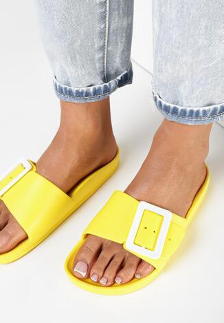 Żółte Klapki Pasaia