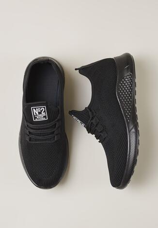 Czarne Buty Sportowe Hylei