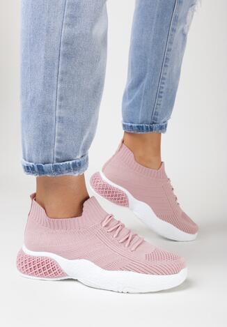 Różowe Buty Sportowe Lynnnell