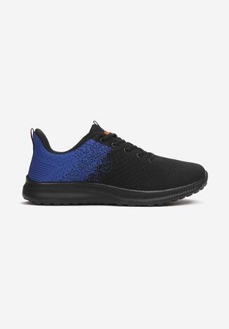 Czarno-Niebieskie Buty Sportowe Zeuxusi
