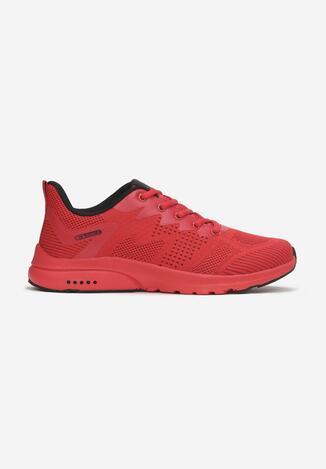 Czerwono-Czarne Buty Sportowe Ianamisia