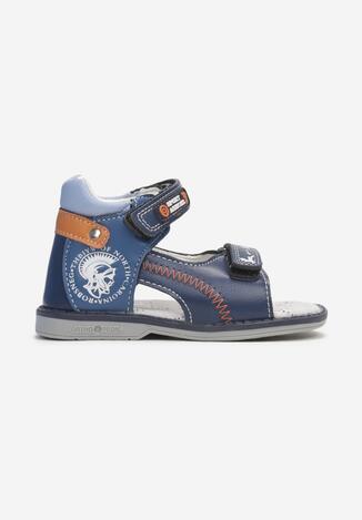 Niebieskie Sandały Olithaeia