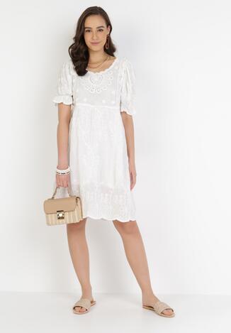 Biała Sukienka Pasigale
