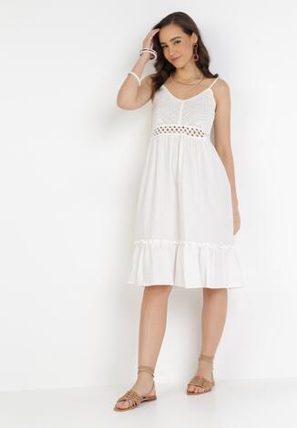 Biała Sukienka Lorainia
