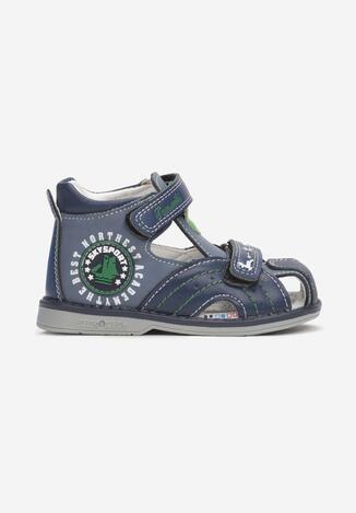 Niebieskie Sandały Nysaia