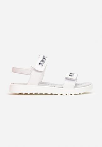 Biało-Niebieskie Sandały Mystanthei
