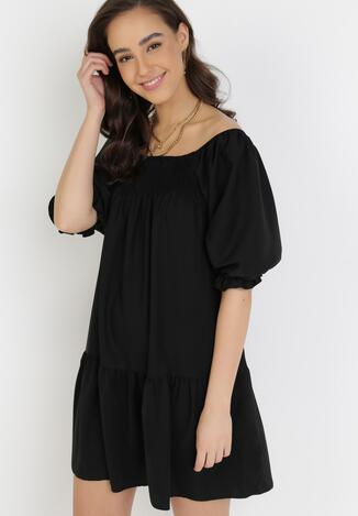 Czarna Sukienka Penlenne