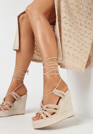 Beżowe Sandały Diosesi