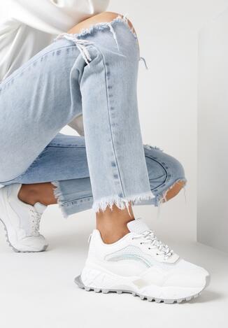 Białe Sneakersy Meleia