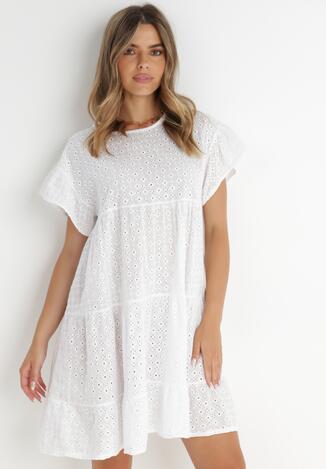 Biała Sukienka Delota