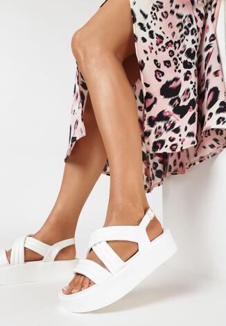 Białe Sandały Salariko