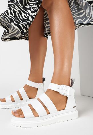 Białe Sandały Aethinoire