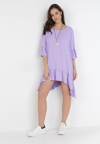 Liliowa Sukienka Yaris