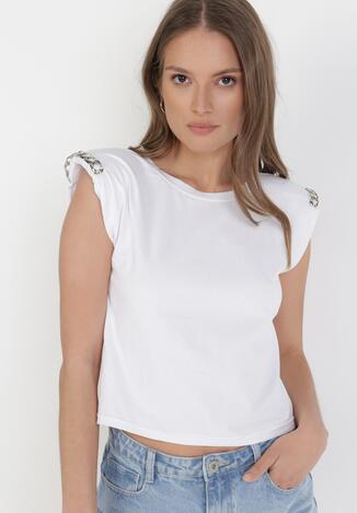 Biała Bluzka Idaphassea