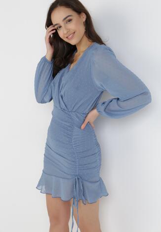 Ciemnoniebieska Sukienka Liza