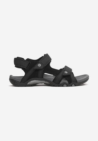 Czarne Sandały Thosiphelia