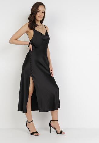 Czarna Sukienka Amiphalise