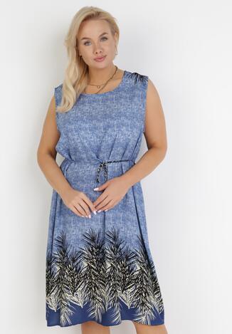 Niebieska Sukienka Cnassissis