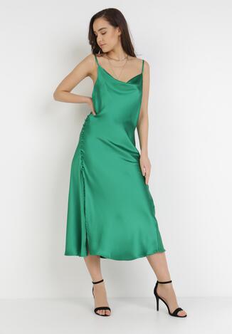 Zielona Sukienka Amiphalise