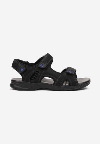 Czarno-Niebieskie Sandały Ancilles