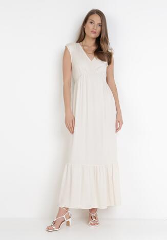 Kremowa Sukienka Lysosa