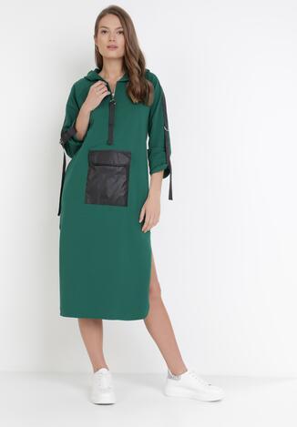 Zielona Sukienka Idaphiphite