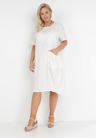 Biała Sukienka Dasatos